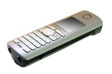 Gray Radio-telephone. Stock Images