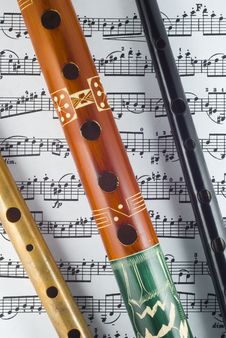 Free Flute Royalty Free Stock Image - 6068896