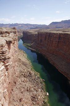 Free Colorado River In Marble Canyon. Stock Photos - 6069683