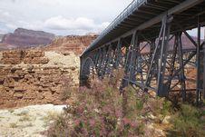 Free Navajo Bridge NM, Arizona Stock Image - 6069711