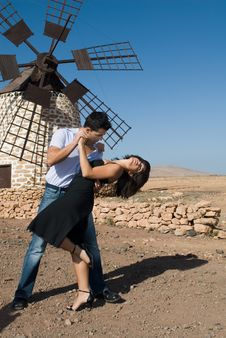 Free Man And Woman Dancing A Tango Stock Photo - 6069910