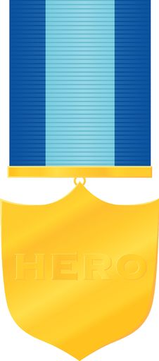 Free Shield-shaped Medal Royalty Free Stock Photography - 6069957