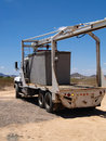 Free Construction Truck - Vertical Royalty Free Stock Image - 6077466