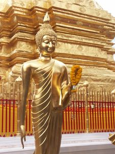 Free Golden Buddha Stock Images - 6070594