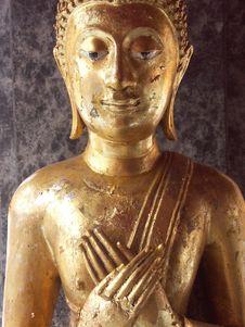 Free Golden Buddha Royalty Free Stock Images - 6070619