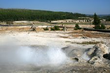 Free Geysers In Yellowstone Stock Photography - 6070652