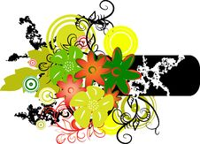 Banner With Colors. Vector Illustration Royalty Free Stock Photos