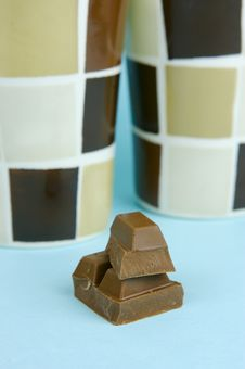 Free Milk Chocolate And Coffee Royalty Free Stock Image - 6071636