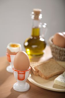 Free Breakfast With Boiled Eggs Stock Photos - 6071643