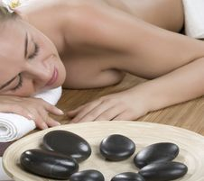 Stone Therapy In Spa Royalty Free Stock Images
