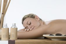 Stone Therapy In Spa Royalty Free Stock Photo