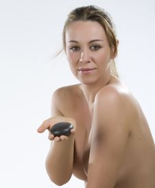 Stone Therapy In Spa Stock Photography