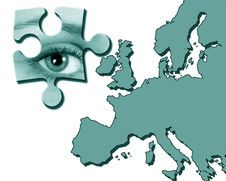 Free Eye On Europe Royalty Free Stock Image - 6072096