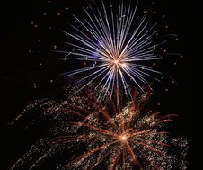 Free Fireworks Salute Stock Photography - 6072302
