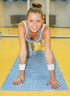 Free Sport Woman Stock Image - 6072421