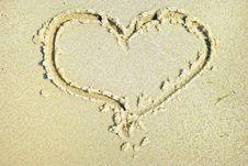 Hearts Drawn Royalty Free Stock Photo