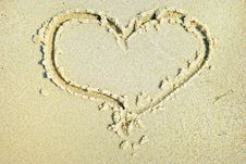 Free Hearts Drawn Royalty Free Stock Photo - 6072435