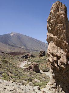 Free Mount Teide Stock Photography - 6072912