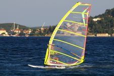 Free Sportsman On Windsurfing Stock Photo - 6072930