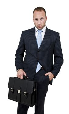 Free Executive With Bag Royalty Free Stock Photo - 6072935