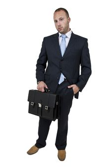 Free Executive With Briefcase Royalty Free Stock Photo - 6072945