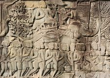 Free Khmer Warriors Royalty Free Stock Image - 6073316