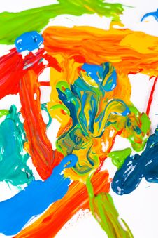 Free Abstract Painting Royalty Free Stock Image - 6073426