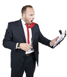 Free Businessman In Shock Royalty Free Stock Photo - 6073755