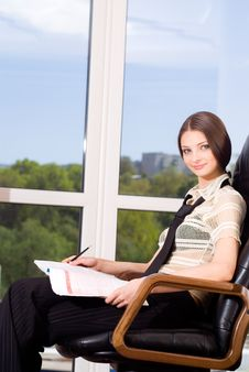 Free Businesswoman Stock Photography - 6073972