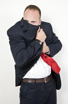 Free Shivering Gentleman Stock Photos - 6073993
