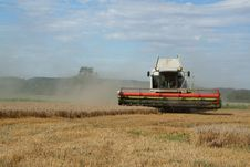 Free Harvester Stock Photography - 6074042
