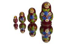 Matryoshka Stock Photography
