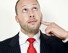Free Thinking Businessman Stock Photo - 6074130