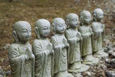 Free Holy Statues Of Japan Stock Photography - 6074132