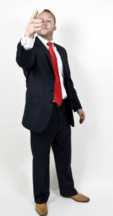 Free Threatening Man Stock Images - 6074304