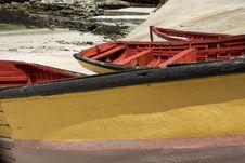 Abandoned Fishing Boats Stock Photo