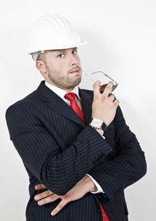 Thinking Architect Stock Photos