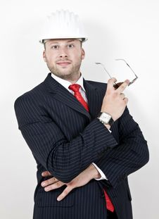 Free Architect With Goggles Stock Photography - 6074442