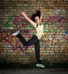 Free Dancer. Royalty Free Stock Images - 6074539