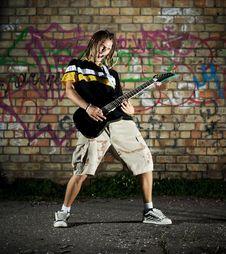 Free Rockstar. Stock Image - 6074561
