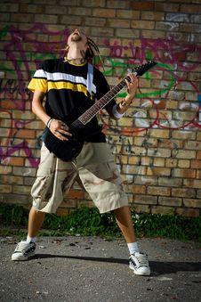 Free Rockstar. Stock Images - 6074564