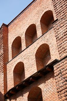 Free Brick Walls Of Old Arsenal In Lviv, Ukraine Royalty Free Stock Images - 6074969
