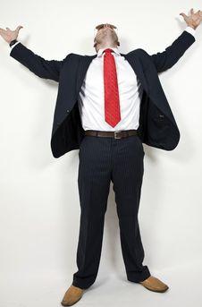 Free Gentleman Looking Upwards Stock Photography - 6075242