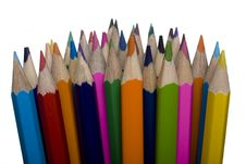 Free Color Pencils Royalty Free Stock Image - 6075326