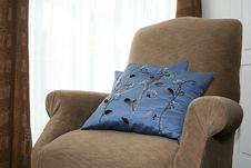 Free Comfortable Chair By Window Stock Photos - 6075833