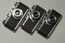 Free Old Cameras Royalty Free Stock Images - 6075989