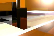 Free Orange Motion Box Royalty Free Stock Images - 6076449