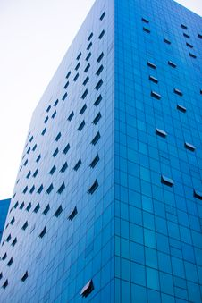 Free Blue Skyscraper Stock Photography - 6077012