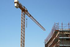 Free Tower Crane Stock Photography - 6077132