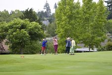 Free Women Playing Golf Stock Photo - 6077760